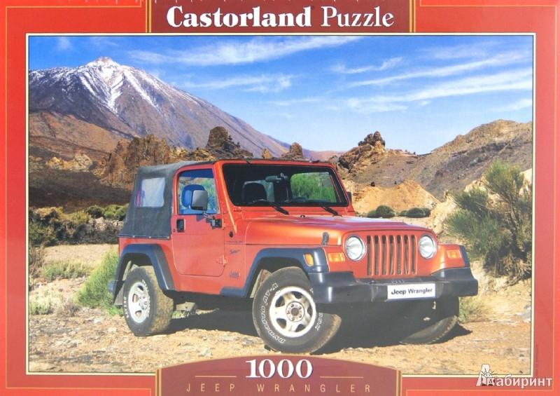 Иллюстрация 1 из 2 для Puzzle-1000. Джип Wrangler (С-102587) | Лабиринт - игрушки. Источник: Лабиринт