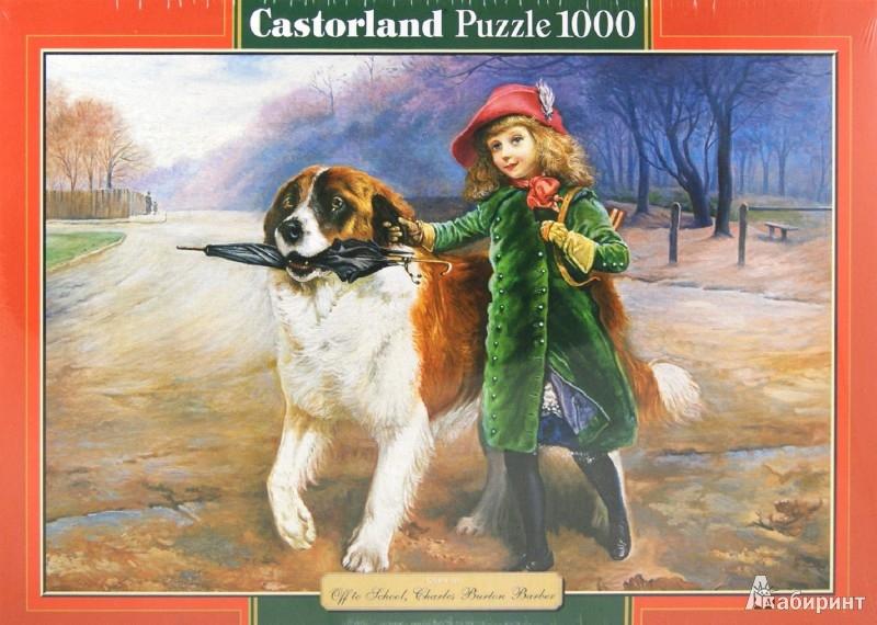 Иллюстрация 1 из 6 для Puzzle-1000. В школу. Ч.Б. Барбер (С-102600)   Лабиринт - игрушки. Источник: Лабиринт