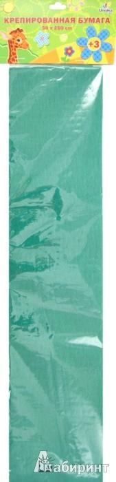 Иллюстрация 1 из 2 для Бумага цветная крепированная, зеленая (КБ001) | Лабиринт - канцтовы. Источник: Лабиринт