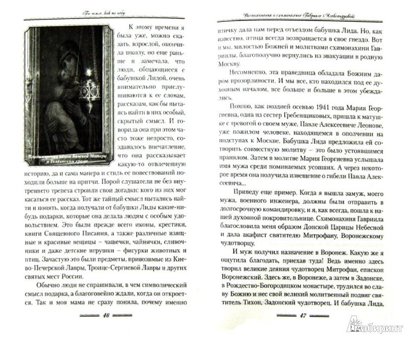 Иллюстрация 1 из 7 для По земле, как по небу. О схимомонахине Гаврииле (Александровой) | Лабиринт - книги. Источник: Лабиринт