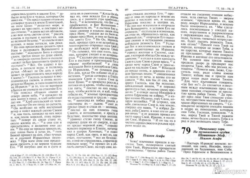 Иллюстрация 1 из 5 для Библия. Книги Священного Писания Ветхого и Нового завета | Лабиринт - книги. Источник: Лабиринт