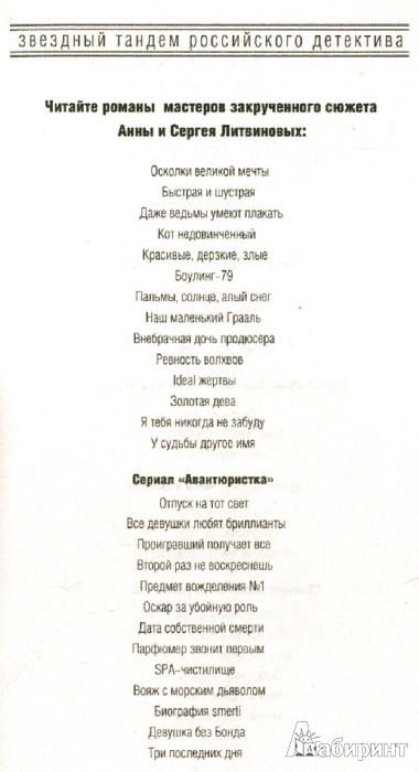 Иллюстрация 1 из 7 для Три последних дня - Литвинова, Литвинов | Лабиринт - книги. Источник: Лабиринт