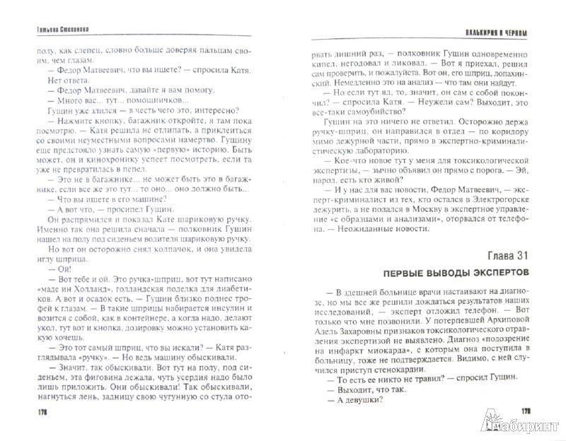 Иллюстрация 1 из 13 для Валькирия в черном - Татьяна Степанова   Лабиринт - книги. Источник: Лабиринт