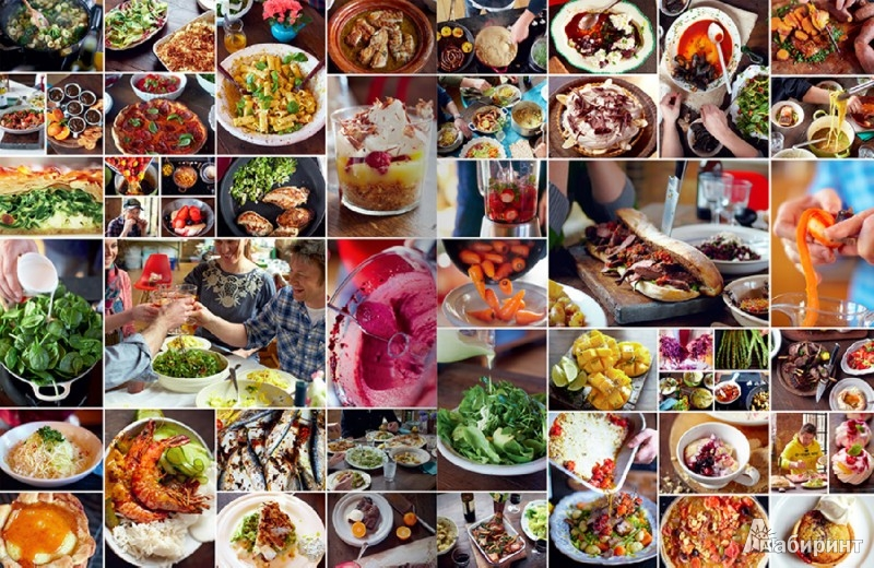 Иллюстрация 3 из 8 для Обеды за 30 минут от Джейми - Джейми Оливер | Лабиринт - книги. Источник: Лабиринт