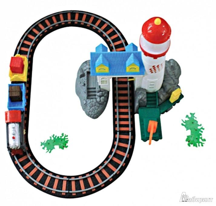 Иллюстрация 1 из 4 для Железная дорога детская, 15 деталей (Т53100)   Лабиринт - игрушки. Источник: Лабиринт