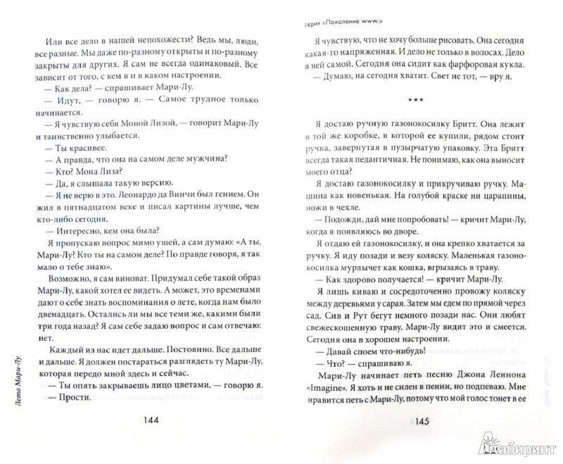 Иллюстрация 1 из 9 для Лето Мари-Лу - Стефан Каста   Лабиринт - книги. Источник: Лабиринт