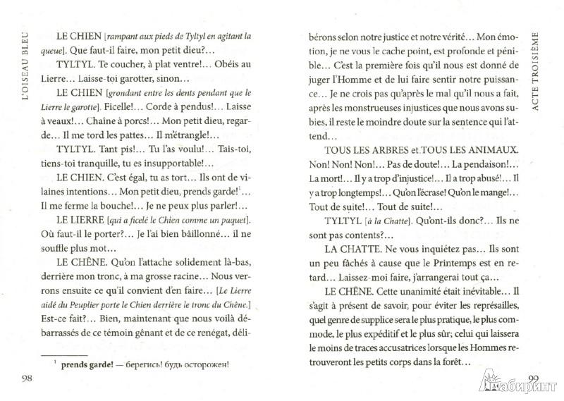 Иллюстрация 1 из 8 для Синяя птица. Книга для чтения на французском языке - Maurice Maeterlinck | Лабиринт - книги. Источник: Лабиринт