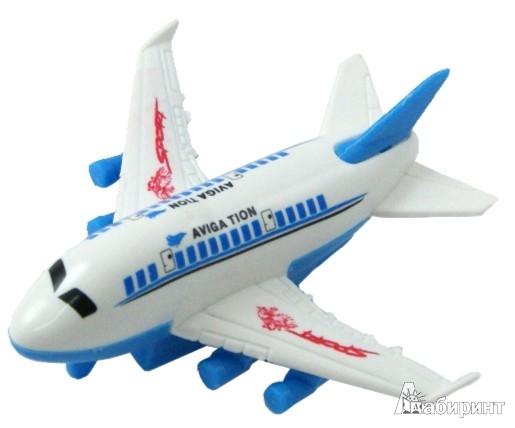 Иллюстрация 1 из 5 для Самолет (562300) | Лабиринт - игрушки. Источник: Лабиринт