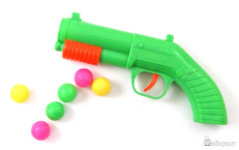 Иллюстрация 1 из 3 для Пистолет дуэльный с шарами (30050) | Лабиринт - игрушки. Источник: Лабиринт