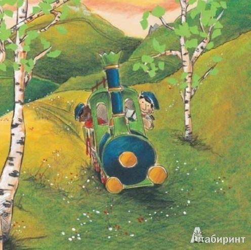 Иллюстрация 1 из 3 для Джим Пуговка и полудракон Непомук - Михаэль Энде | Лабиринт - книги. Источник: Лабиринт
