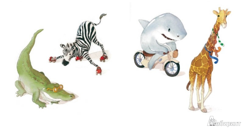 Иллюстрация 1 из 39 для Папа, а почему зебры не катаются на роликах? - Квентин Гребан | Лабиринт - книги. Источник: Лабиринт