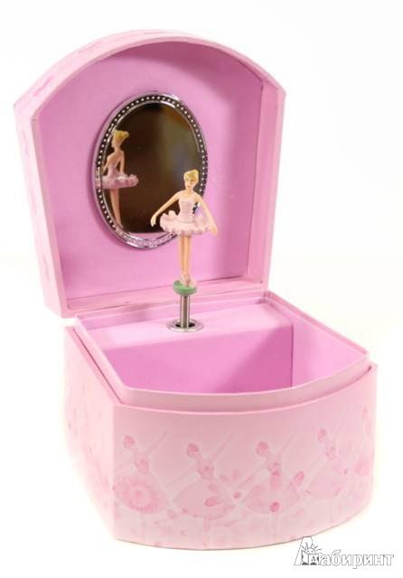 """Иллюстрация 1 из 3 для Шкатулка музыкальная """"Две балерины"""" (411000)   Лабиринт - игрушки. Источник: Лабиринт"""