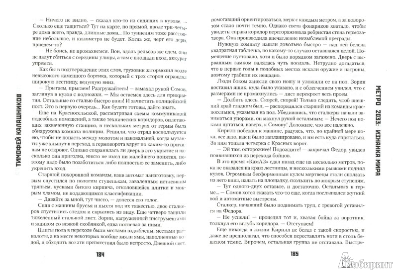 Иллюстрация 1 из 23 для Метро: 2033: Изнанка мира - Тимофей Калашников | Лабиринт - книги. Источник: Лабиринт