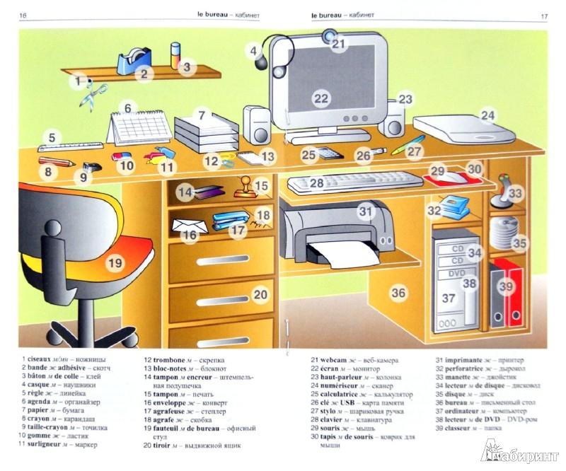 Иллюстрация 1 из 13 для Французский язык в картинках | Лабиринт - книги. Источник: Лабиринт