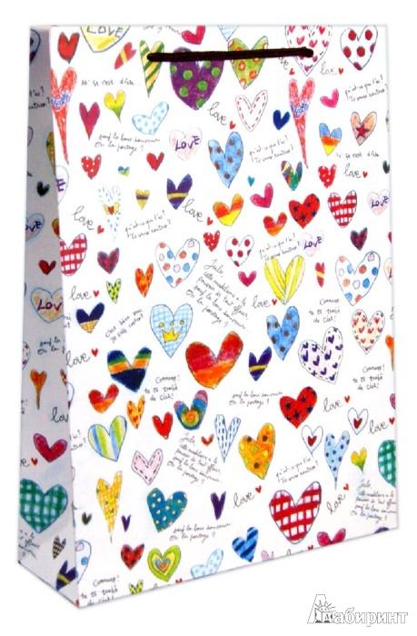 Иллюстрация 1 из 6 для Пакет бумажный с матовой ламинацией (27529) | Лабиринт - сувениры. Источник: Лабиринт