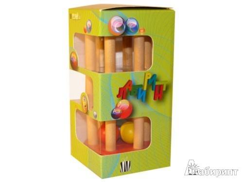 Иллюстрация 1 из 6 для Лабиринт деревянный с 3 шариками (5019)   Лабиринт - игрушки. Источник: Лабиринт