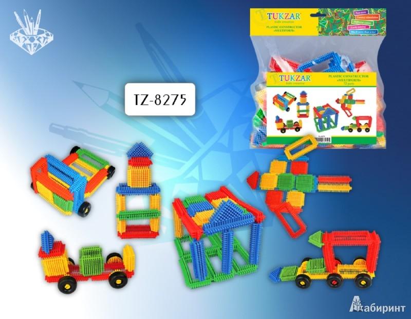 """Иллюстрация 1 из 4 для Конструктор пластиковый """"Multiform"""" 72 детали (TZ 8275)   Лабиринт - игрушки. Источник: Лабиринт"""