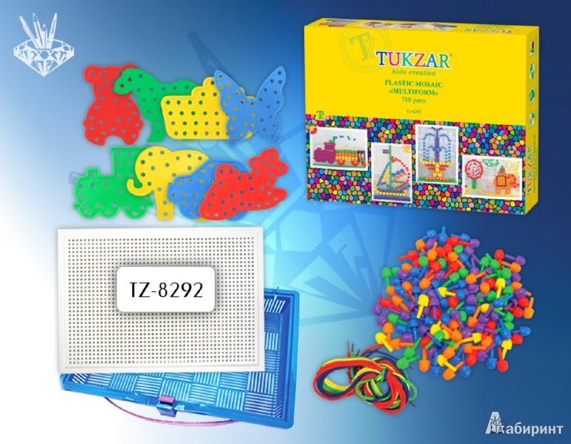 """Иллюстрация 1 из 8 для Мозаика пластиковая """"Multiform"""" 710 предметов (TZ 8292)   Лабиринт - игрушки. Источник: Лабиринт"""