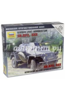 """Сборная модель """"Немецкий легкий бронеавтомобиль Sd.kfz.222"""" (6157)"""