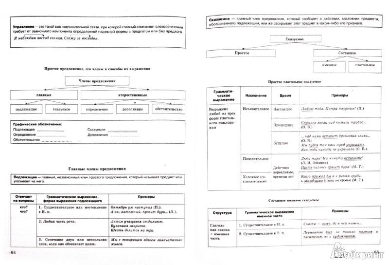 Иллюстрация 1 из 11 для Русский язык в схемах, терминах, таблицах - Ольга Оконевская | Лабиринт - книги. Источник: Лабиринт