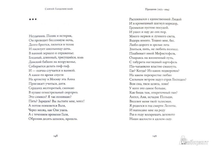 Иллюстрация 1 из 20 для Стихотворения - Сергей Гандлевский   Лабиринт - книги. Источник: Лабиринт
