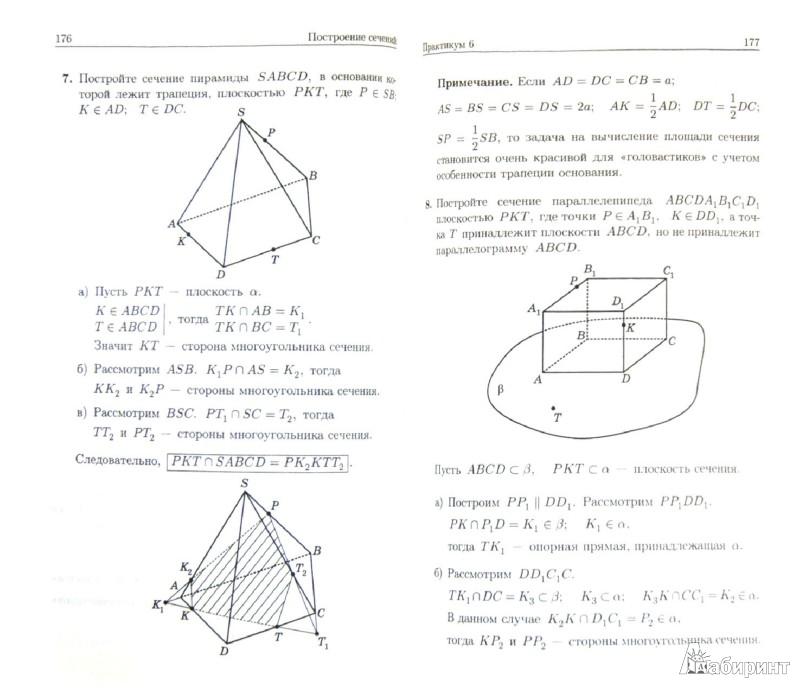 Иллюстрация 1 из 16 для Геометрические задачи на экзаменах. Часть 2. Стереометрия. Часть 3. Векторы - Александр Шахмейстер   Лабиринт - книги. Источник: Лабиринт