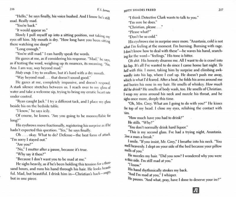 Иллюстрация 1 из 16 для Fifty Shades Freed - E James | Лабиринт - книги. Источник: Лабиринт
