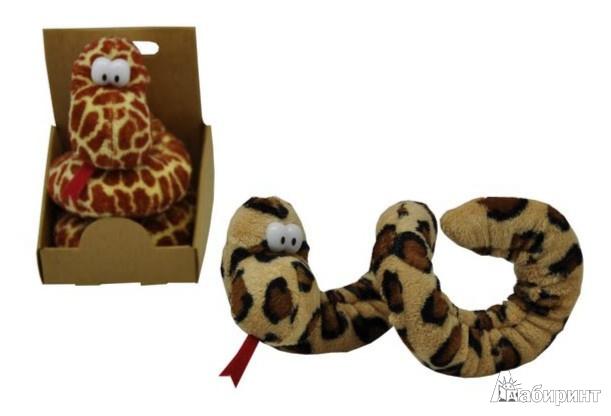 Иллюстрация 1 из 7 для Змей плюшевый, 40 см, в ассортименте (GS8679-SBDB) | Лабиринт - игрушки. Источник: Лабиринт