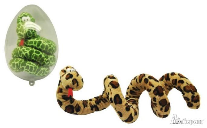 Иллюстрация 1 из 5 для Змей плюшевый, 75 см. (яйцо пластик) (GS8679/PBDB) | Лабиринт - игрушки. Источник: Лабиринт