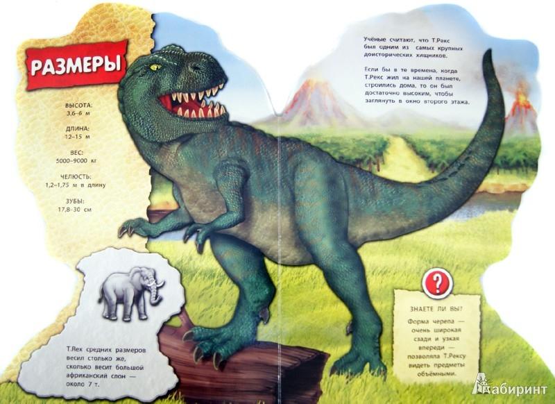 Иллюстрация 1 из 6 для Тираннозавр Рекс   Лабиринт - книги. Источник: Лабиринт
