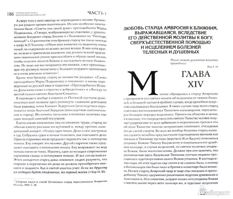 Иллюстрация 1 из 2 для Оптинский старец иеросхимонах Амвросий | Лабиринт - книги. Источник: Лабиринт