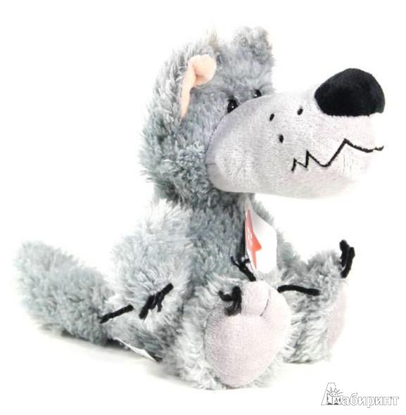 Иллюстрация 1 из 5 для Мягкая игрушка. Волк - 20 см (11016) | Лабиринт - игрушки. Источник: Лабиринт