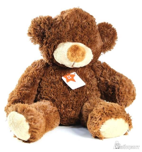 Иллюстрация 1 из 2 для Мягкая игрушка. Большой коричневый медведь - 37 см (11023) | Лабиринт - игрушки. Источник: Лабиринт