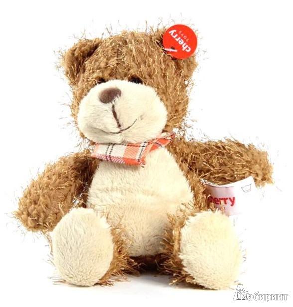 Иллюстрация 1 из 2 для Мягкая игрушка. Медвежонок 22 см (41016) | Лабиринт - игрушки. Источник: Лабиринт