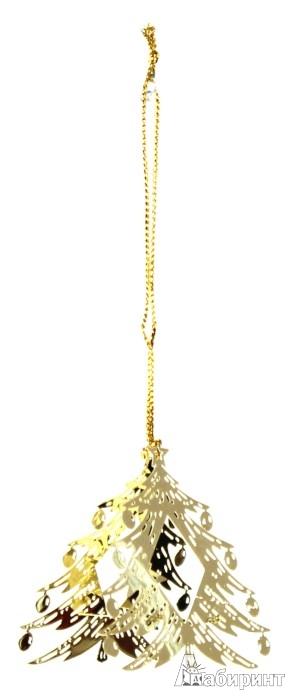 Иллюстрация 1 из 3 для Новогоднее декоративное подвесное украшение (25074) | Лабиринт - сувениры. Источник: Лабиринт