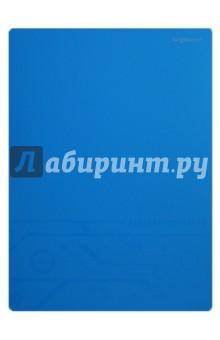 Папка с файлами. DISCOVERY. 20 файлов. Цвет: голубой (255039-08)