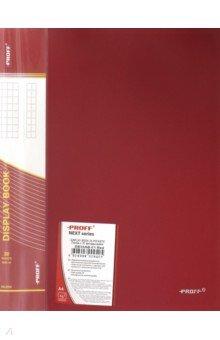Папка A4 с 30 вкладышами, красная (28-2259)
