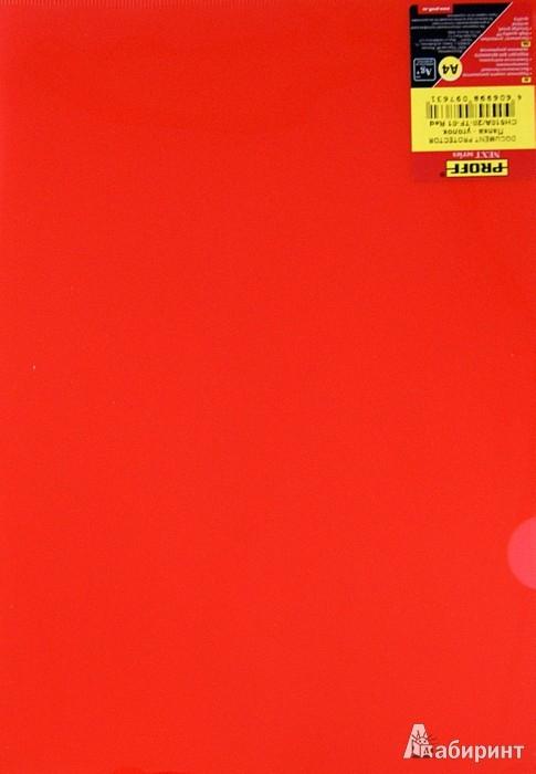 Иллюстрация 1 из 5 для Папка-уголок A4, красная (20-1980) | Лабиринт - канцтовы. Источник: Лабиринт