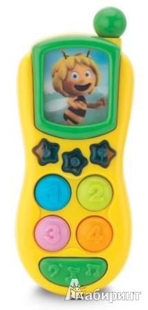 """Иллюстрация 1 из 2 для Телефон """"Пчелка Майя"""" (113001)   Лабиринт - игрушки. Источник: Лабиринт"""