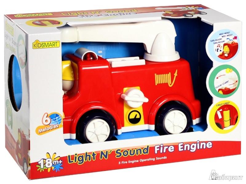 Иллюстрация 1 из 9 для Пожарная машина (23060) | Лабиринт - игрушки. Источник: Лабиринт