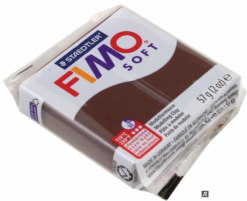 """Иллюстрация 1 из 3 для Полимерная глина для моделирования """"Fimo Soft"""" (57 г, какао) (8020-75)   Лабиринт - игрушки. Источник: Лабиринт"""
