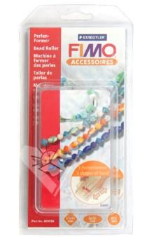 FIMO Accessoires. Роллер для катания бусин (8712) пеньюар и стринги черные с розовой кружевной отделкой