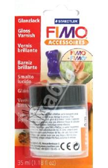 FIMO Accessoires. Глянцевый лак на водной основе,35 мл. (8704 01) fimo accessoires роллер для катания бусин 8712