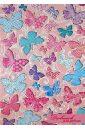 Дневничок для девочек Бабочки (29148) дневничок для девочек забавные котики 45833