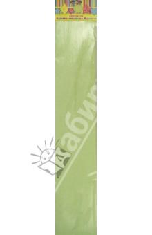 Бумага зеленая перламутровая крепированная (28593/10)
