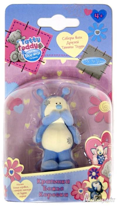 "Иллюстрация 1 из 2 для Tatty Teddy & my Blue Nose Friends. Фигурка ""Божья Коровка"" (43776)   Лабиринт - игрушки. Источник: Лабиринт"