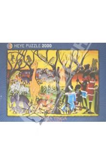 Puzzle-2000 Жители Африки (29513) puzzle 2000 замок ужаса loup 26127