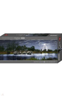 Puzzle-2000 Стадо слонов (29508) сенсорные купить до 2000 грн