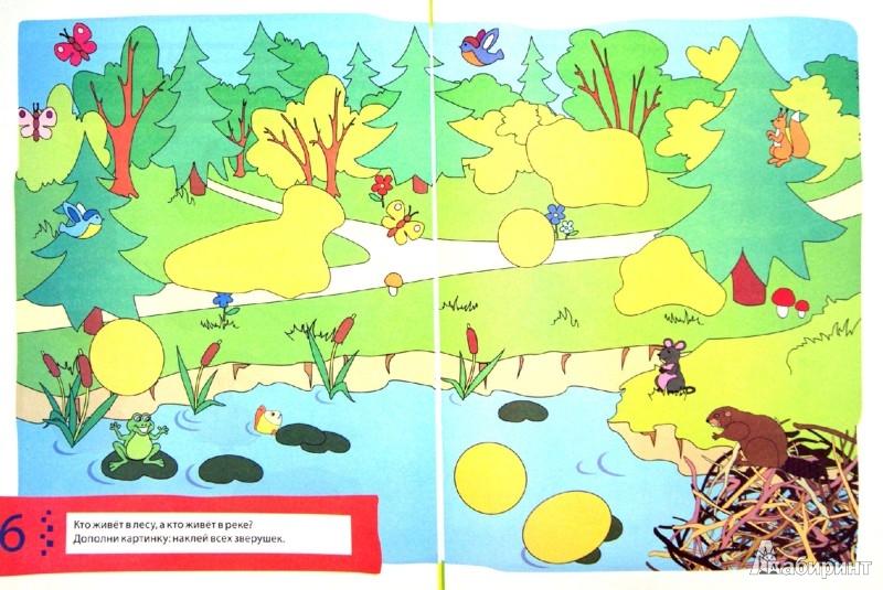 Иллюстрация 1 из 16 для Окружающий мир. Развивающие упражнения с наклейками - Екатерина Голицына | Лабиринт - книги. Источник: Лабиринт