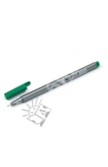 """Капиллярная ручка """"Triplus Liner"""" (0,3 мм, цвет зеленый) (334-5)"""